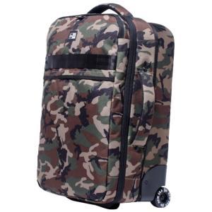 ニューエラ バッグ キャリーバッグ ホイールバッグ ウッドランドカモ ブラック ホワイト New Era Bag Trolly Bag Wheel Bag Woodland Camo Black White|cio