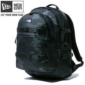 ニューエラ バッグ リュックサック キャリアパック ウッドランドカモブラック ホワイト New Era Bag Back Pack Carrier Pack Woodland Camo Black White|cio