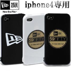 ニューエラ アイフォーン(アイフォン)4ケース ブラック 3カラーズ New Era iPhone4 Case 3colors|cio