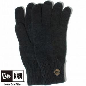 ニューエラ ニットグローブ ブラック New Era Knit Glove Black|cio