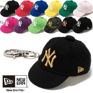 ニューエラ キャップキーホルダー ニューヨークヤンキース 12カラーズ New Era Cap Key Holder New York Yankees 12Colors|cio
