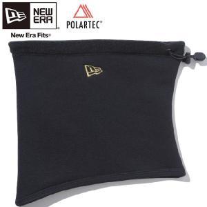 ポーラテック(R)×ニューエラ フリースネックウォーマー ブラック メタリックゴールド Polartec(R)×New Era Fleece Neck Warmer Black Metallic Gold cio