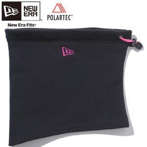 ポーラテック(R)×ニューエラ フリースネックウォーマー ブラック ピンク Polartec(R)×New Era Fleece Neck Warmer Black Pink cio