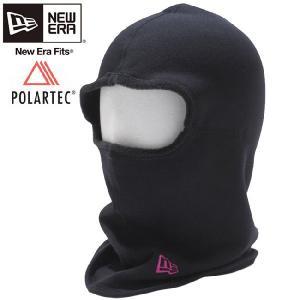 ポーラテック(R)×ニューエラ フリースフェイスマスク ブラック ピンク Polartec(R)×New Era Fleece Face Mask Black Pink|cio