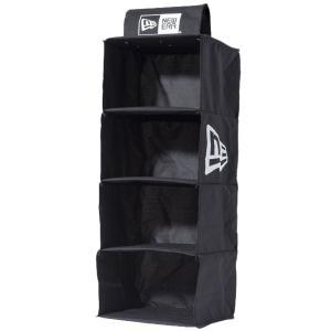 ニューエラ キャップ ストレージ システム フラッグロゴ ブラック ホワイト New Era Cap Storage System Flag Logo Black White|cio