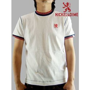 【SALE】NICKEL&DIME SS T-Shrit PARICOLLO MC JERSEY White  S/S Tシャツ パリコロ MC ジャージー ホワイト|cio