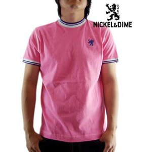 【SALE】NICKEL&DIME SS T-Shrit PARICOLLO MC JERSEY Pink  S/S Tシャツ パリコロ MC ジャージー ピンク|cio