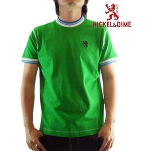 【SALE】NICKEL&DIME SS T-Shrit PARICOLLO MC JERSEY Green S/S Tシャツ パリコロ MC ジャージー グリーン|cio