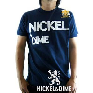 【SALE】NICKEL&DIME S/S T-Shrit PARICOLLO JERSEY MC LOGO Navy S/S Tシャツ パリコロ ジャージー M C ロゴ ネイビー|cio