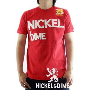 【SALE】NICKEL&DIME S/S T-Shrit PARICOLLO JERSEY MC LOGO Red  S/S Tシャツ パリコロ ジャージー M C ロゴ レッド|cio