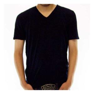 NUDIE JEANS TIM SS TEE 130409 Black ヌーディージーンズ ティム S/S Tシャツ 130409 ブラック|cio