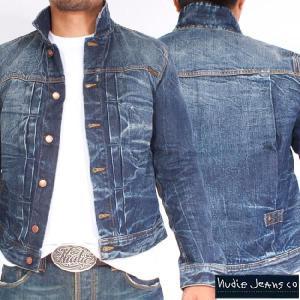 ヌーディージーンズ ジャケット ソニー オーガニックバタードデニム Nudie Jeans Sonny Organic Batterd Denim|cio