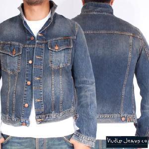 ヌーディージーンズ ジャケット テリー オーガニックストライキーデニム Nudie Jeans Terry Organic Strikey Denim|cio