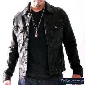 ヌーディージーンズ レザー ジャケット テリー ブラック 32161-5019 NUDIE JEANS Leather Jacket TERRY Black 32161-5019|cio