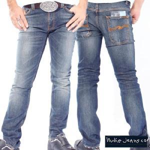 ヌーディージーンズ シンフィン オーガニック ウェルユーズド Nudie Jeans Thin Finn Organic Well Used|cio