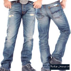 ヌーディージーンズ アベレージジョー オーガニック ウォーンセルビッチ Nudie Jeans Average Joe Organic Worn Selvage|cio