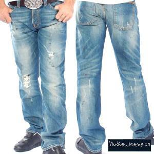 ヌーディージーンズ アベレージジョー オーガニック ガレージウォーン Nudie Jeans Average Joe Organic Garage Worn|cio