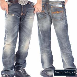 ヌーディージーンズ ハンクレイ オーガニック グレイコントラスツ Nudie Jeans Hank Rey Organic Grey Contrasts|cio