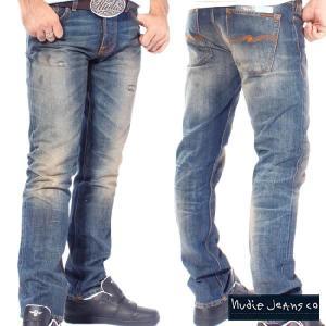 ヌーディージーンズ グリムティム オーガニック ユーズドセルビッチ Nudie Jeans Grim Tim Organic Used Selvage|cio