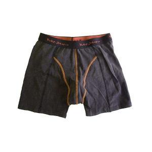 Nudie Jeans 7022 BOXER PANTS Black ヌーディージーンズ 7022 ボクサーパンツ ブラック cio