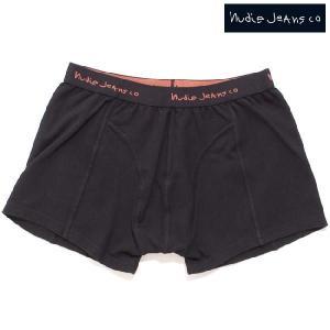 ヌーディージーンズ アンダーウェア ボクサーズ ブラック Nudie Jeans Underwear Boxers Black|cio