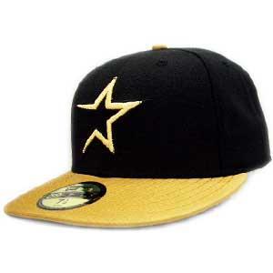 ニューエラ キャップ クーパーズタウン ヒューストン アストロズ ブラック/ゴールド New Era Cap COOPERS TOWN Houston Astros Black Gold|cio