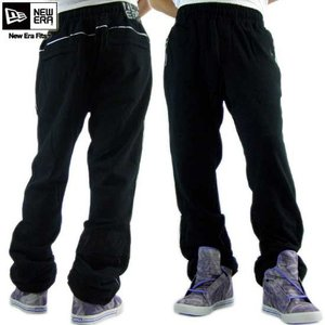 ニューエラ トラック パンツ コースター ブラック/シルバー ダズル New Era TRACK PANTS COASTER Black/Silver Dazzle|cio