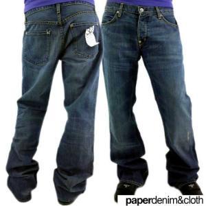 PAPERDENIM&CLOTH BMX Marlowe 5 pocket slim Boot DENIM PANTS ペーパーデニム&クロース BMX マーロウ 5ポケット スリム ブーツ デニムパンツ|cio