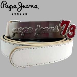 ペペジーンズ ベルト 73 C1022 ホワイト PEPE JEANS Belt 73 C1022|cio