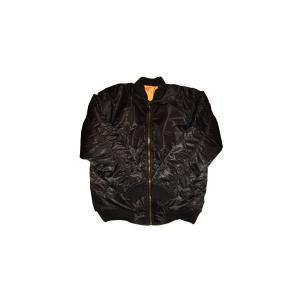 【SALE】PJ MARK Reversible MA1 Jacket Black/Orange ピージェイマーク リバーシブル MA1 ジャケット ブラック/オレンジ|cio