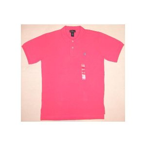 【SALE】POLO RALPH LAUREN S/S POLO Pink ポロ ラルフローレン S/S ポロシャツ ピンク|cio