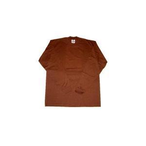 【SALE】PRO CLUB L/S TSHIRTS Brown プロクラブ L/S Tシャツ ブラウン|cio