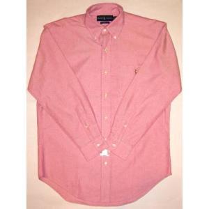 POLO RALPH LAUREN L/S SHIRTS Pink ポロ ラルフローレン L/S シャツ ピンク|cio