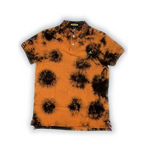 POLO RALPH LAUREN RUGBY S/S POLO SHIRT ORANGE/BLACK ポロ ラルフローレン ラグビー S/S ポロシャツ オレンジ/ブラック|cio