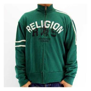 RELIGION INTERSTATE CURLING ZIP JACKET Green レリジョン インターステイト カーリング ジップ ジャケット グリーン|cio