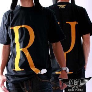 【SALE】リッチヤング S/S Tシャツ RY-F10-52 ブラック ゴールド RICH YUNG SS T-shirt RY-F10-52 Black Gold|cio