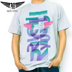 【SALE】リッチ ヤング S/S Tシャツ RY-SP10-07 グレー RICH YUNG SS TEE RY-SP10-07 Gray(Grey)|cio