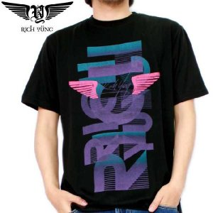 【SALE】リッチ ヤング S/S Tシャツ RY-SP10-07 ブラック RICH YUNG S/S TEE RY-SP10-07 Black|cio
