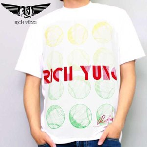 【SALE】リッチ ヤング S/S Tシャツ RY-SP10-05 ホワイト RICH YUNG SS TEE RY-SP10-05 White|cio