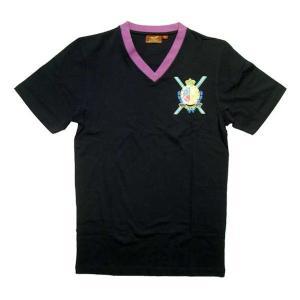 【SALE】RICH YUNG RY-SP08-55 KING OF THE V'S S/S TEE Black リッチヤング キングオブザVネック S/S Tシャツ ブラック|cio