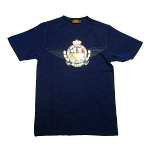 【SALE】リッチヤング ソサエティークレスト S/S Tシャツ ピーコートネイビー RICH YUNG RY SP 101 SOCIETY CREST S/S TEE Peacoat Navy|cio