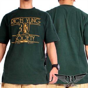 リッチヤング S/S Tシャツ RYSP11-ST20 グリーン Rich Yung S/S T Shirt RYSP11-ST20 Green|cio
