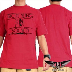 リッチヤング S/S Tシャツ RYSP11-ST20 レッド Rich Yung S/S T Shirt RYSP11-ST20 Red|cio