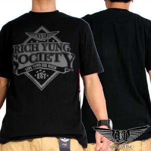 リッチヤング S/S Tシャツ RYSP11-ST22 ブラック Rich Yung S/S T Shirt RYSP11-ST22 Black|cio
