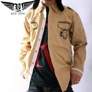 【SALE】リッチヤング L/S シャツ RY-2003 トラディション RICH YUNG LS Shirt RY2003 Tradition|cio