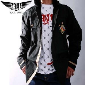 【SALE】リッチヤング L/S シャツ RY-2003 ブラック RICH YUNG LS Shirt RY2003 Black|cio