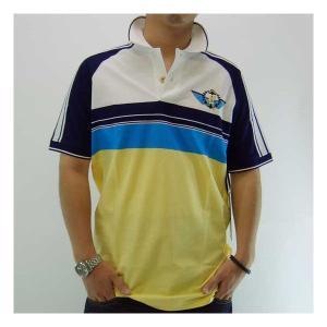 【SALE】RICH YUNG RY-SU08-03# S/S POLO リッチヤング RY-SU08-03# ポロシャツ ポップコーン/ピーコート/ブリリアント ブルー/ホワイト cio