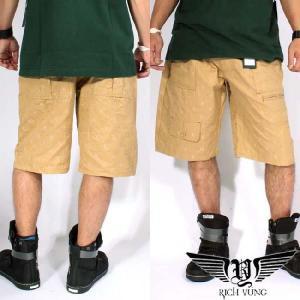 リッチヤング ハーフ ブッシュ パンツ RYSP11-CS05 カーキ RICH YUNG Half Bush Pants Khaki|cio