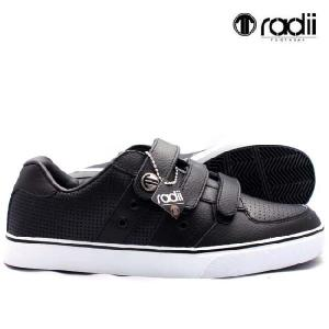 ラディアイ 420 ロー FM1018 ブラック レザー Radii footwear 420LOW FM1018 Black Leather|cio