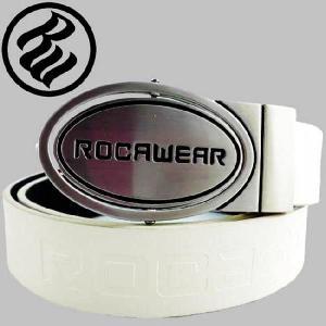 ロカウェア ベルト リバーシブル バックル RW050 ホワイト ROCAWEAR Belt Reversible Buckle RW050|cio